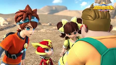 腾讯少年动画片《梦想召唤王》即将登陆六大频道